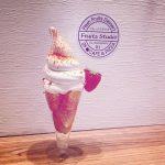 【フルーツスタジオ】国内産フルーツをふんだんい使ったソフトクリームやサンドイッチが人気のお店