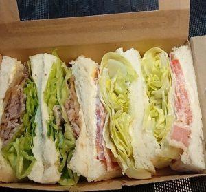 サンドイッチとベイクドポテトのお店 札幌の森のサンドイッチボックス