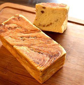 ラビスタの食パンクリームチーズくるみ