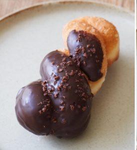 カントスのチョコレートドーナツ