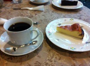 カッフェ ディレニーのケーキセット