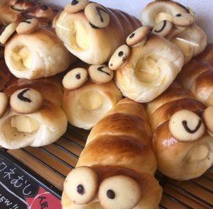 花林のかわいいデザインパン