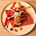 【さんかく堂】「リゾッテリアガク」がプロデュースする新感覚クレープ専門のカフェレストラン!