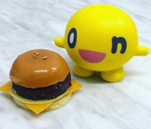 フロコン ド ネージュのハンバーガー