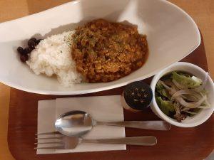 福吉カフェのキーマカレー